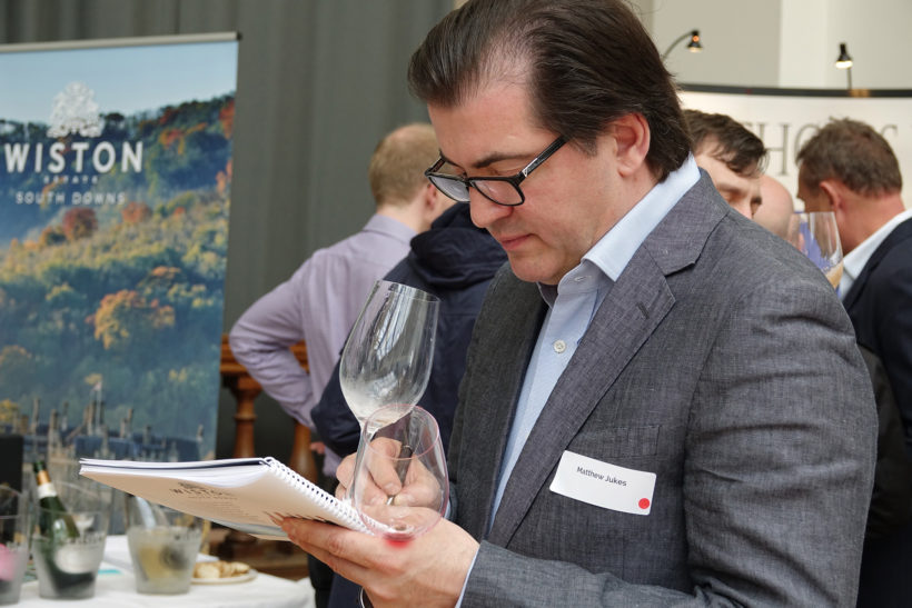Take part in Matthew Jukes' Structured Wine Tasting